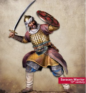 Saracen Warrior 13th century  (Vista 1)