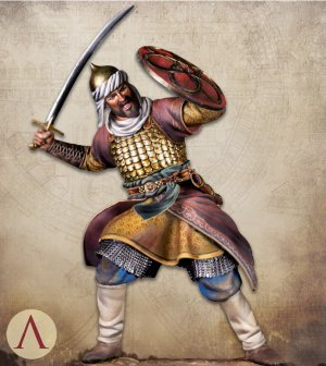 Saracen Warrior 13th century  (Vista 2)