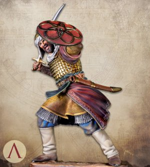 Saracen Warrior 13th century  (Vista 3)