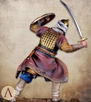 Saracen Warrior 13th century  (Vista 5)