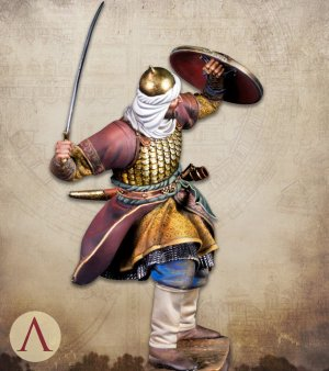 Saracen Warrior 13th century  (Vista 6)
