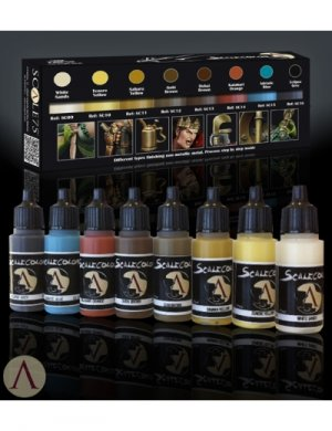 NMM Paint Set (Non Metallic Metal) Gold - Ref.: SC75-SSE002