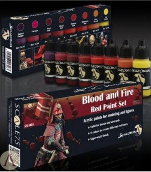 Blood and Fire Red Painta Set  (Vista 2)
