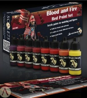 Blood and Fire Red Painta Set  (Vista 3)