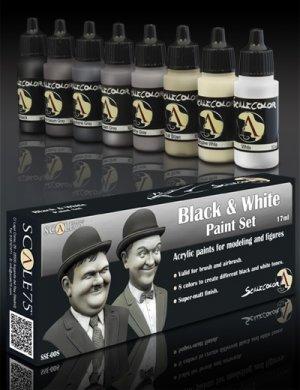 Black and  White Paint Set  (Vista 1)