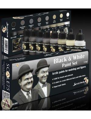 Black and  White Paint Set  (Vista 2)
