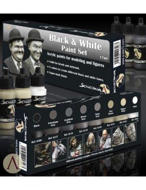 Black and  White Paint Set  (Vista 4)