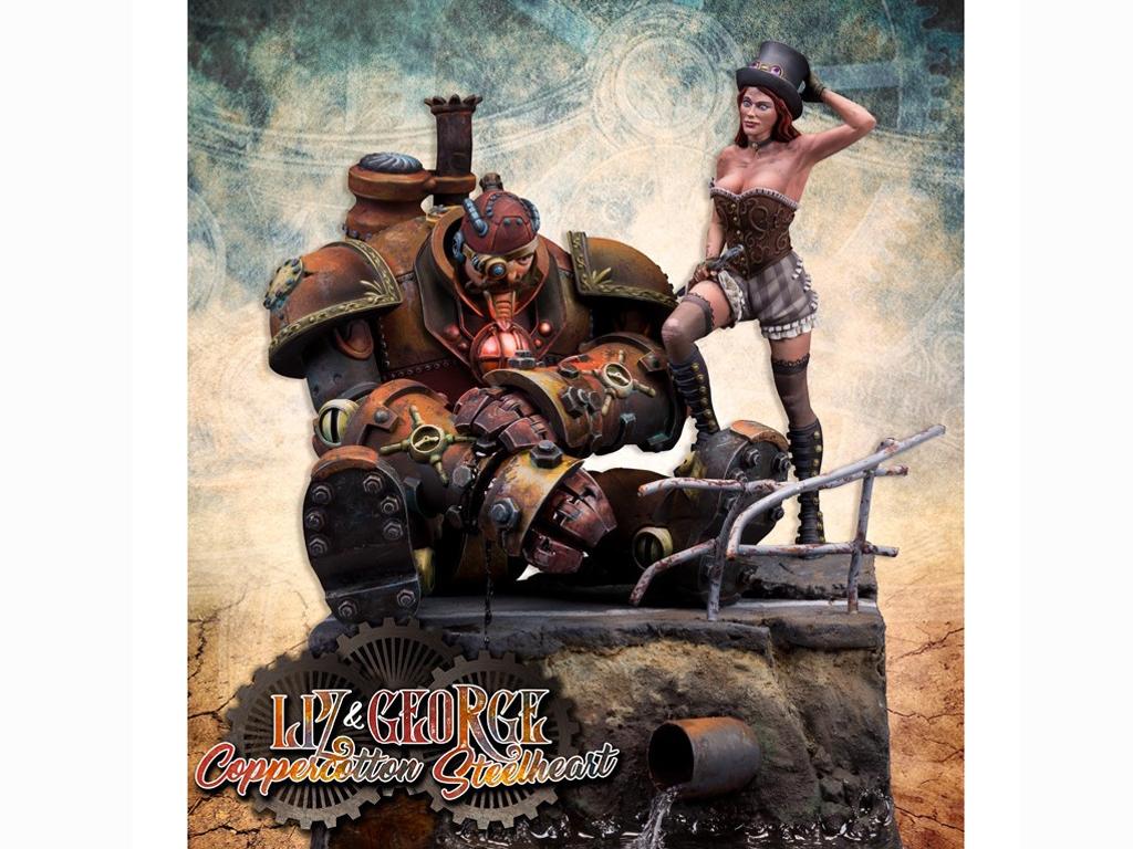 Liz Coppercotton & George Steelheart  (Vista 1)