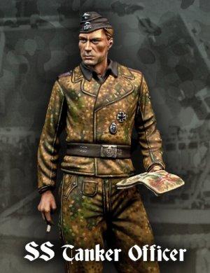 Oficial Tanquista SS  (Vista 1)