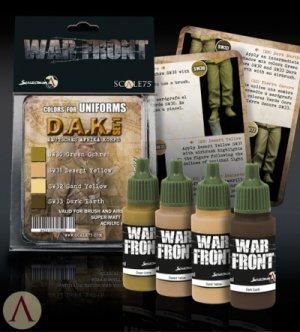 Pack Gefreiter DAK + Fedelgrau Paint Set  (Vista 3)