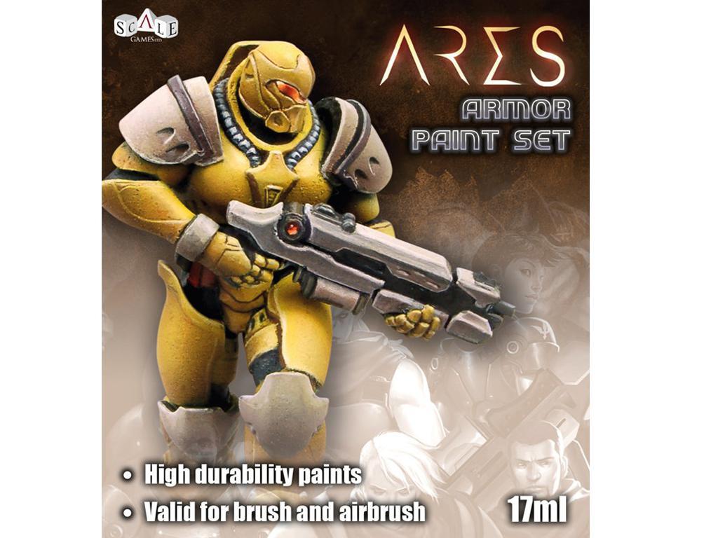 Set de pintura Ares (Vista 1)