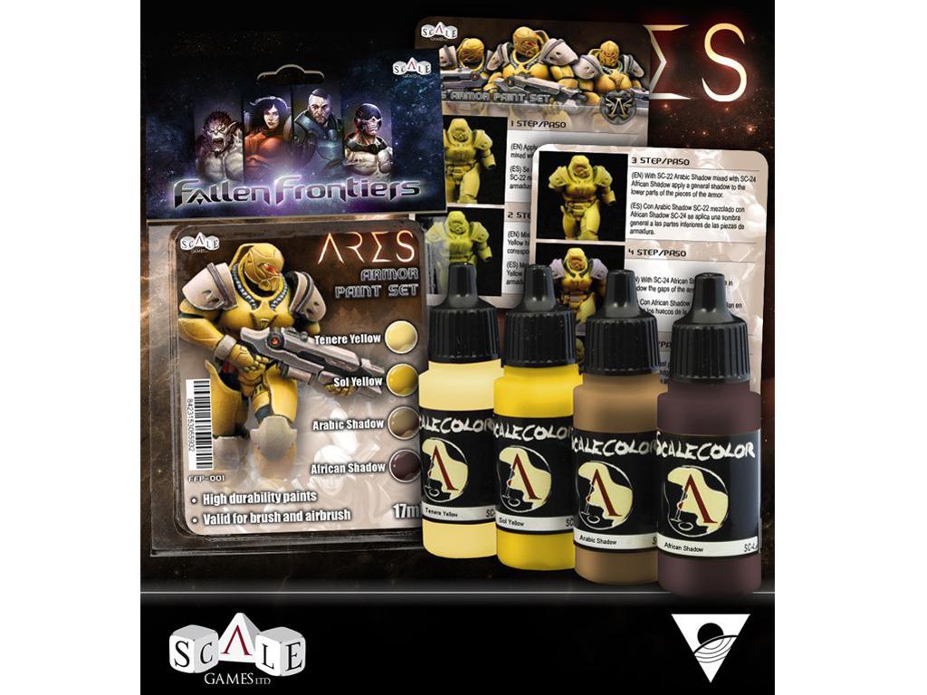 Set de pintura Ares (Vista 2)