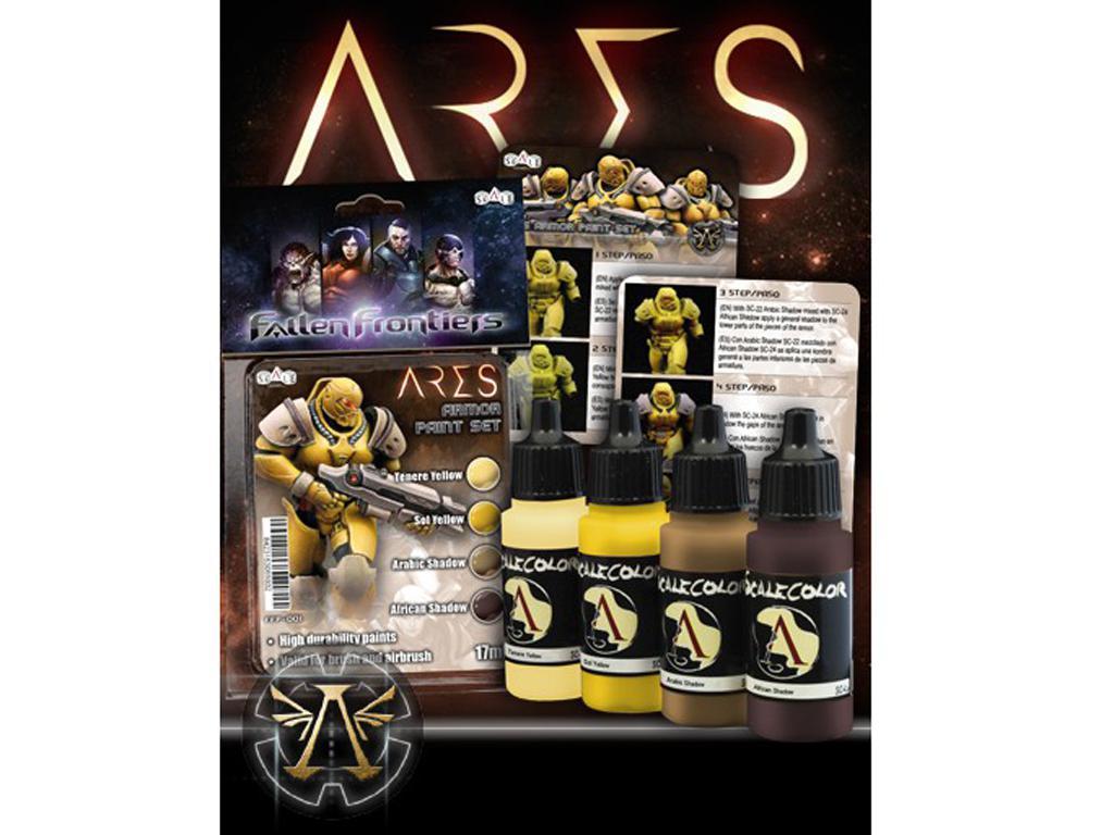 Set de pintura Ares (Vista 3)