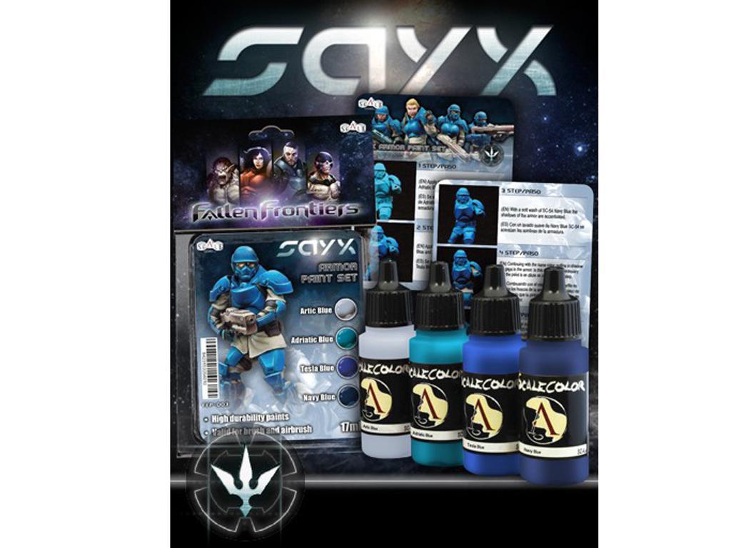 Sayx Paint Set (Vista 3)