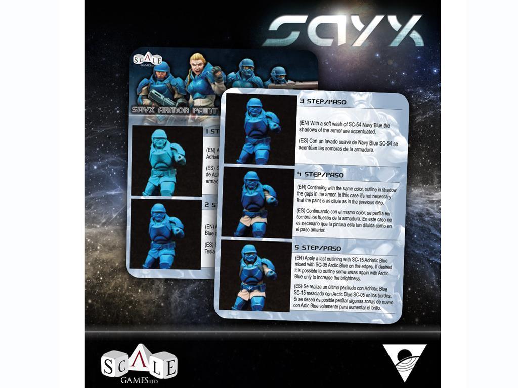 Sayx Paint Set (Vista 5)