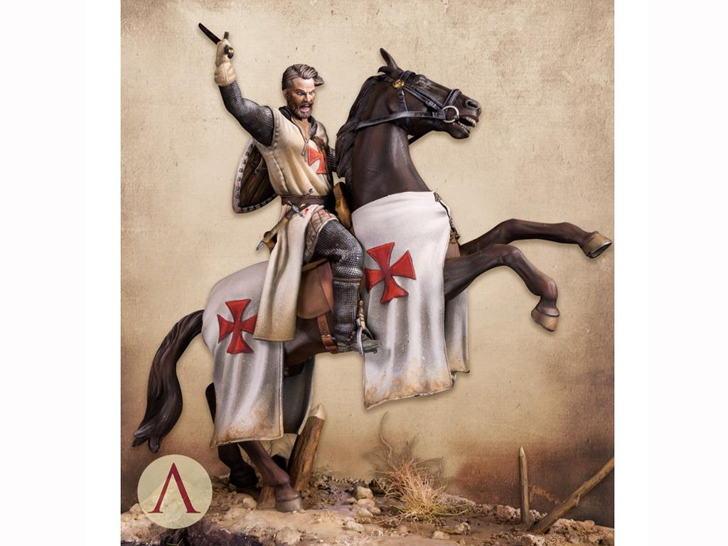 Templario, Siglo XIII (Vista 2)