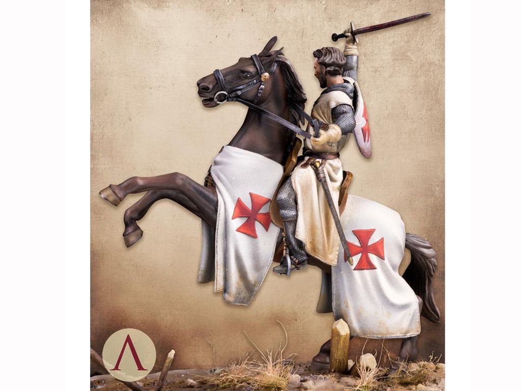 Templario, Siglo XIII (Vista 4)