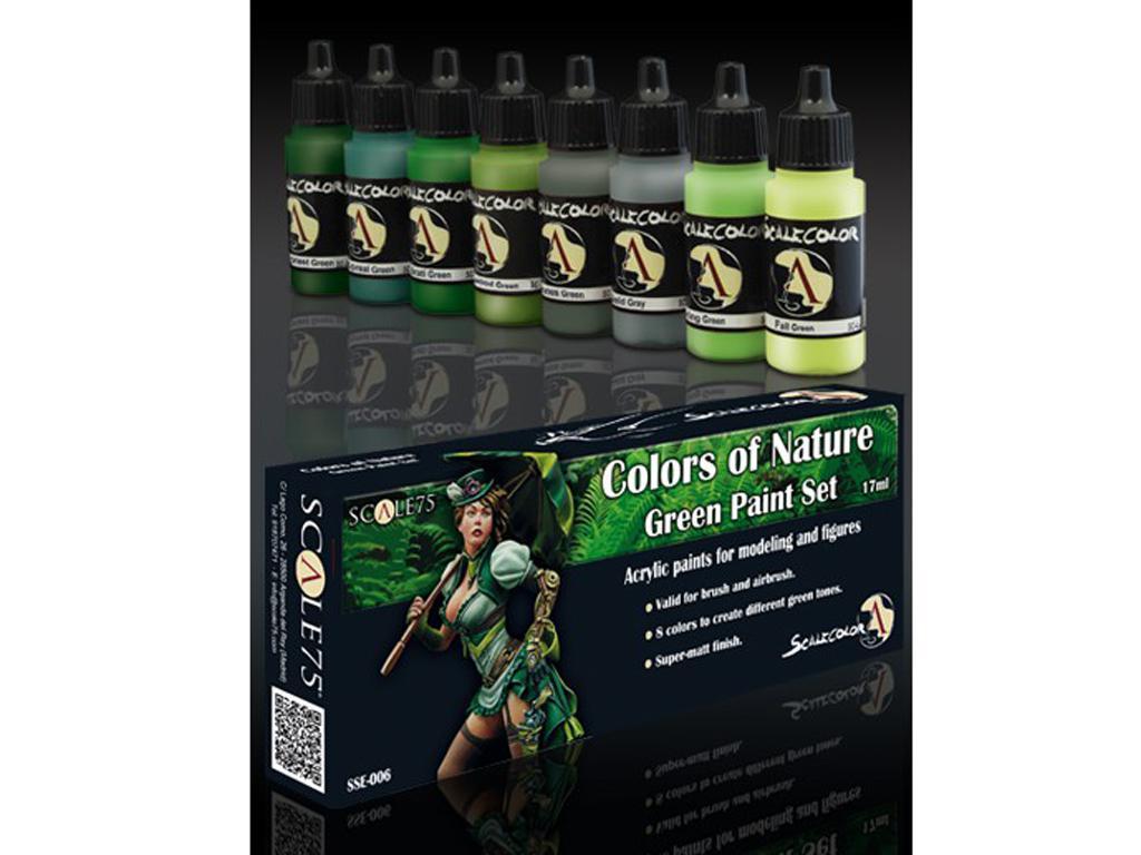 Colores de la naturaleza Verde (Vista 1)