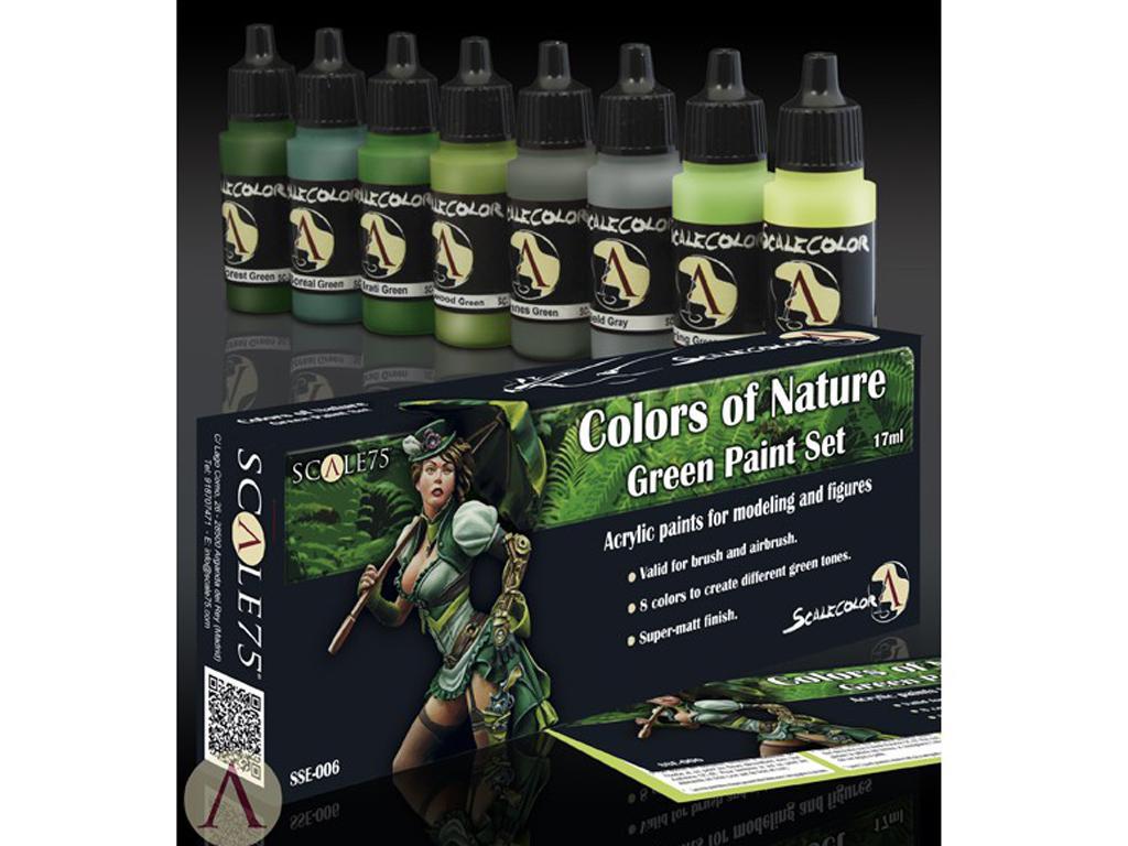 Colores de la naturaleza Verde (Vista 2)