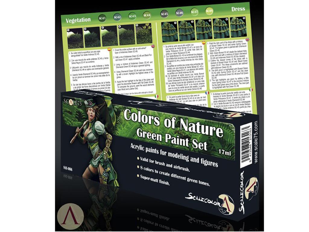 Colores de la naturaleza Verde (Vista 3)