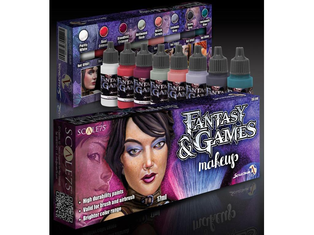 Fantasy & Games - Makeup (Vista 3)