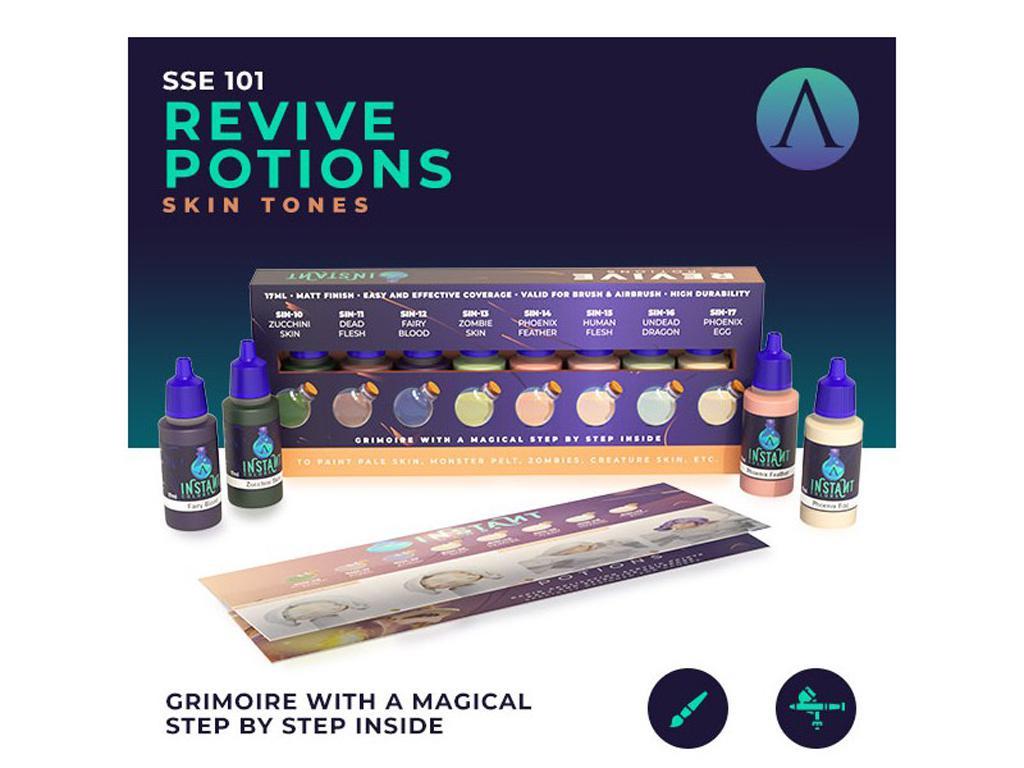 Revive Potions (Vista 2)