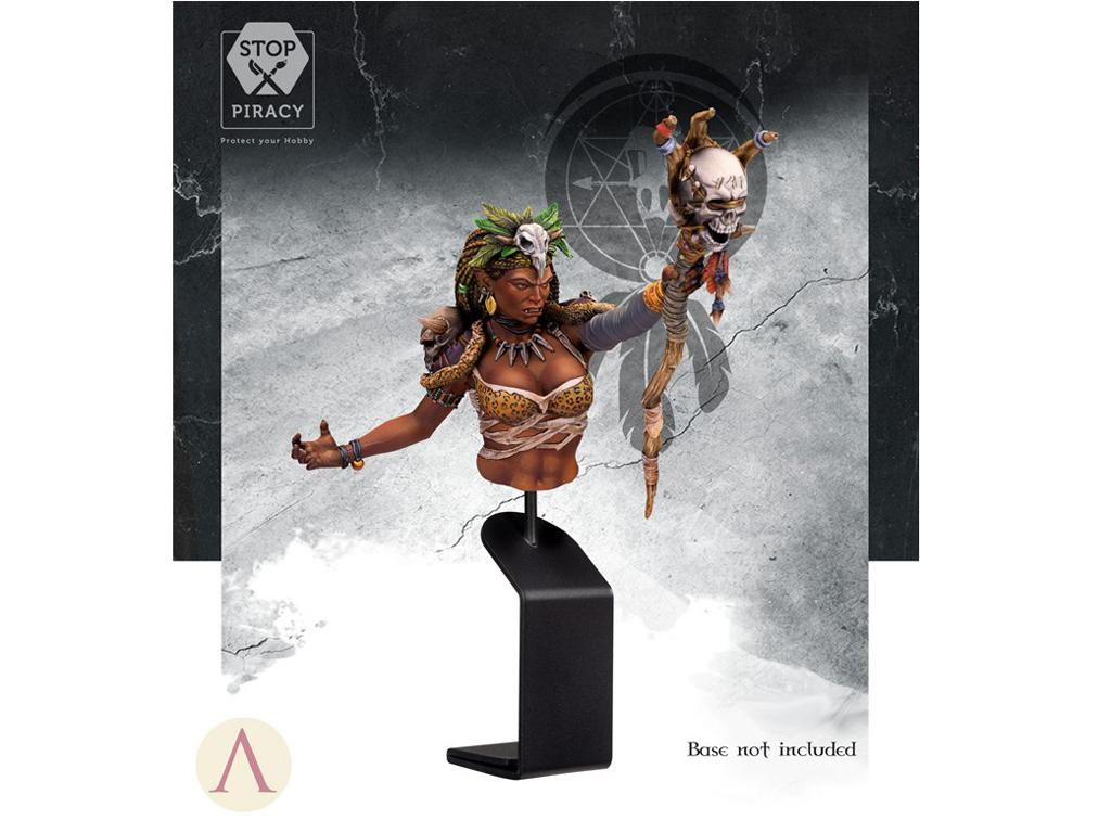 ARUK'HA La Hechicera Oscura (Vista 2)