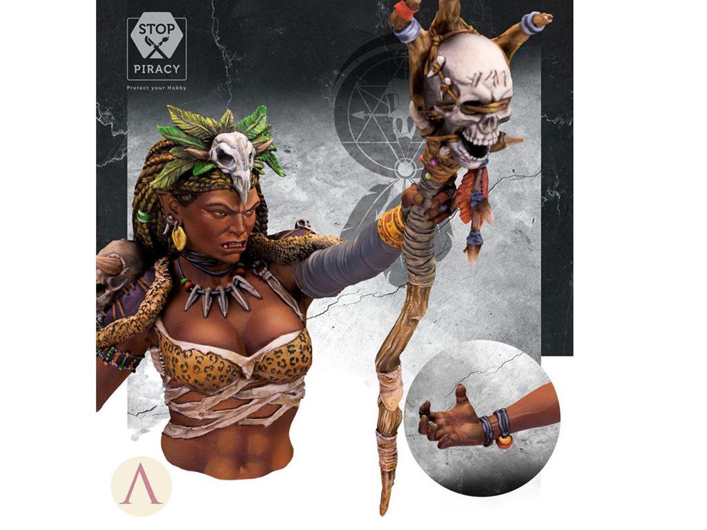 ARUK'HA La Hechicera Oscura (Vista 3)