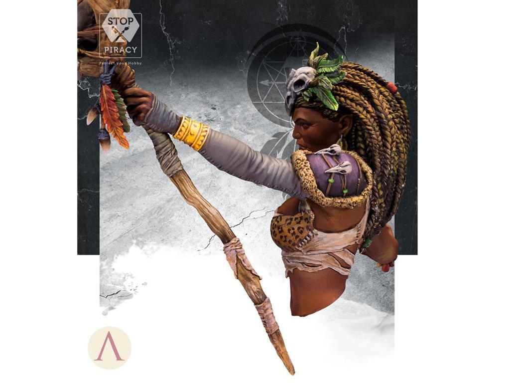 ARUK'HA La Hechicera Oscura (Vista 4)