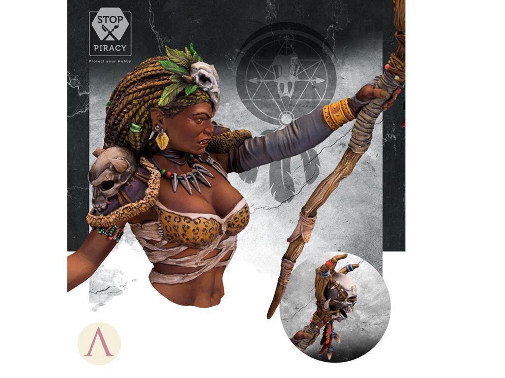ARUK'HA La Hechicera Oscura (Vista 6)