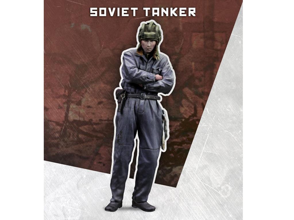 Tanquista Sovietico (Vista 1)
