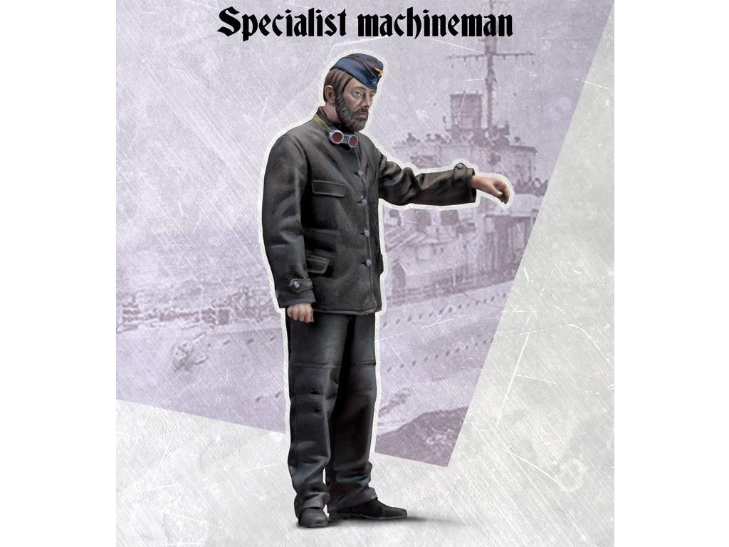 Maquinista Especialista (Vista 1)