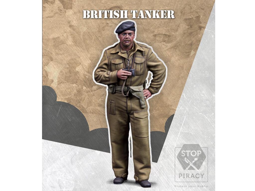 Tanquista Britanico (Vista 1)
