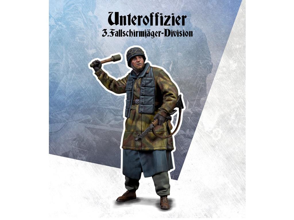 Unteroffizier 3.Fallschirmjager-Division (Vista 1)