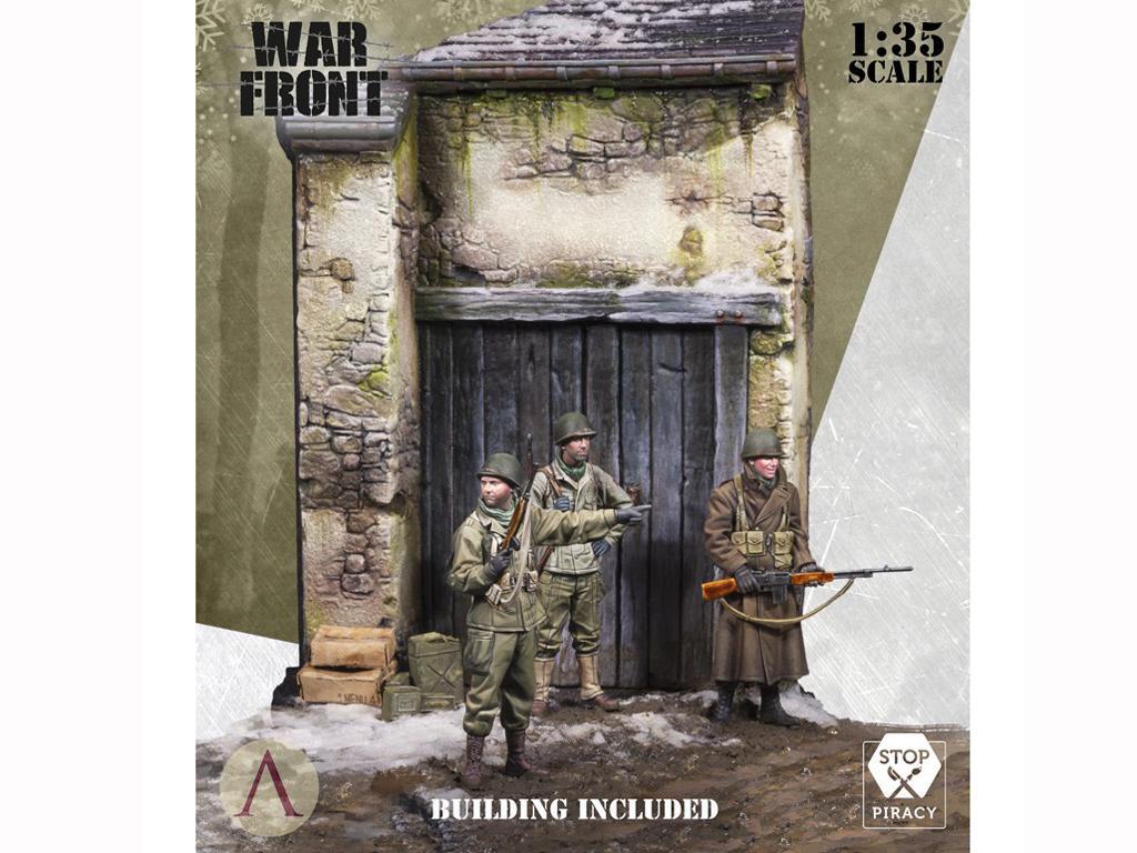 Soldados de EE.UU. en el invierno (Vista 3)