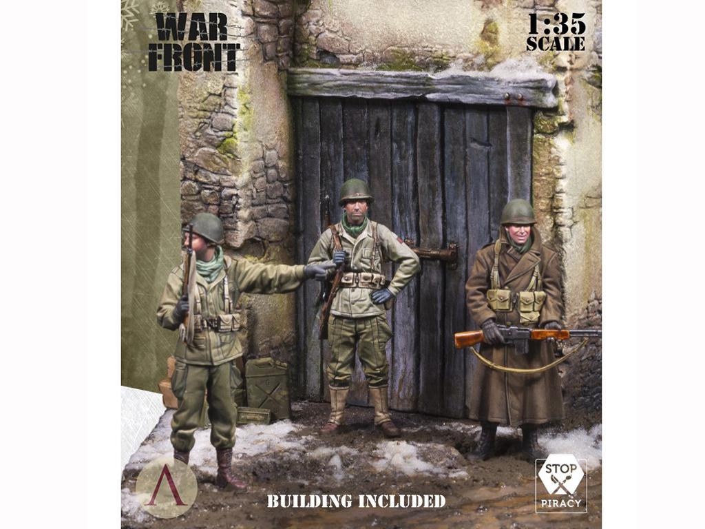 Soldados de EE.UU. en el invierno (Vista 5)