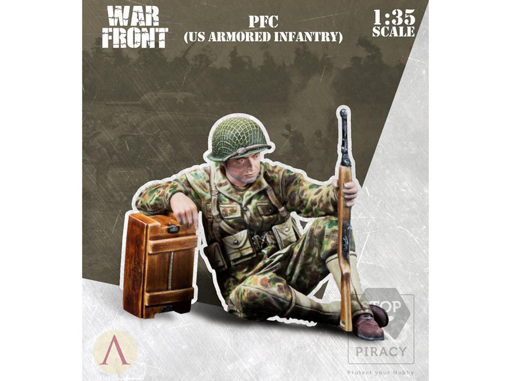 Soldado Primera Clase Infantería US (Vista 1)