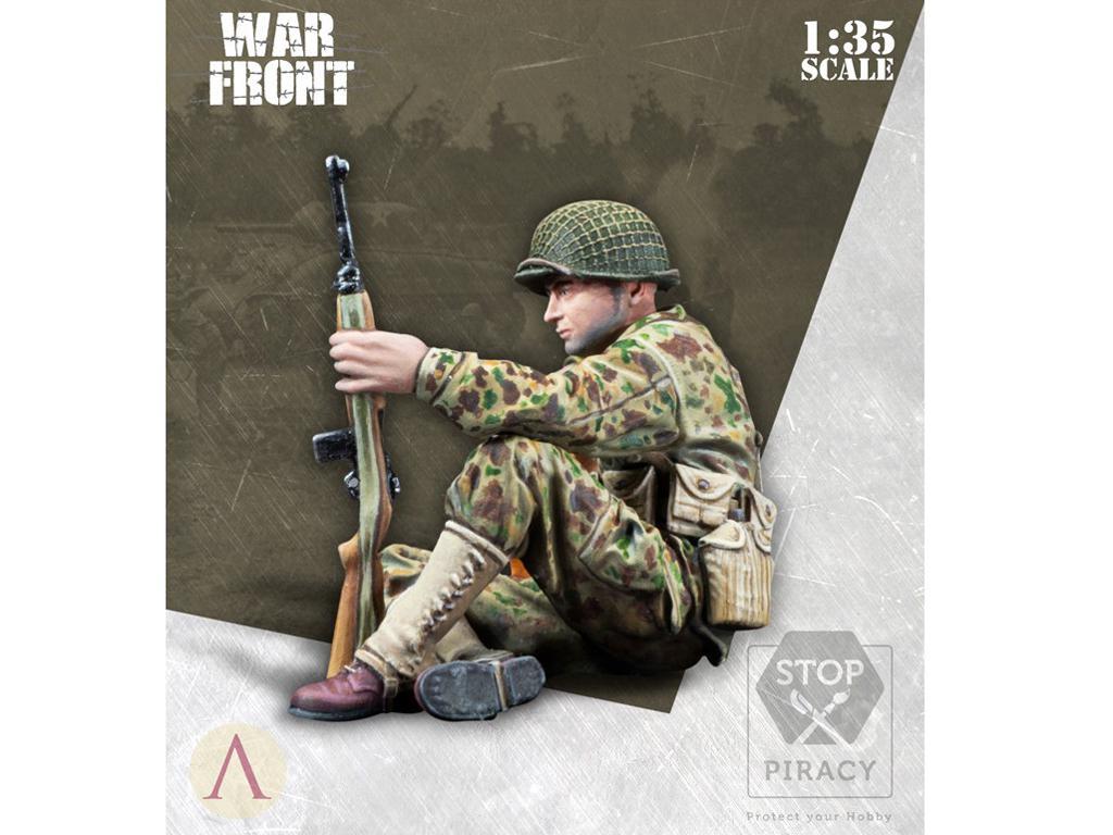 Soldado Primera Clase Infantería US (Vista 2)