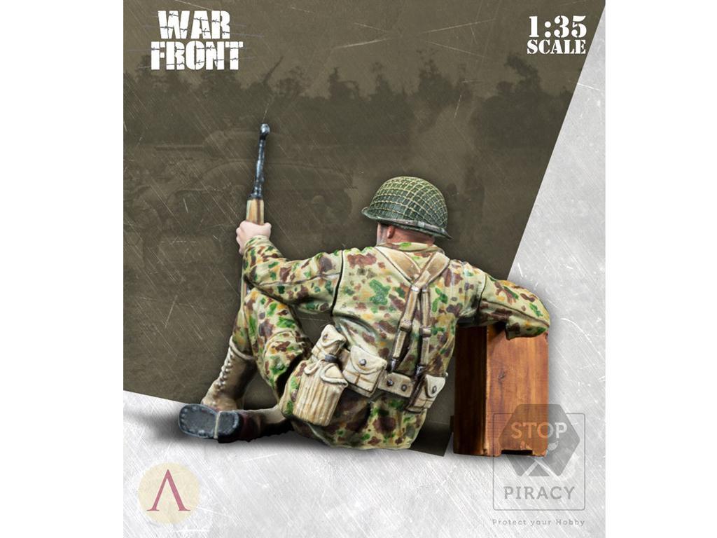 Soldado Primera Clase Infantería US (Vista 3)