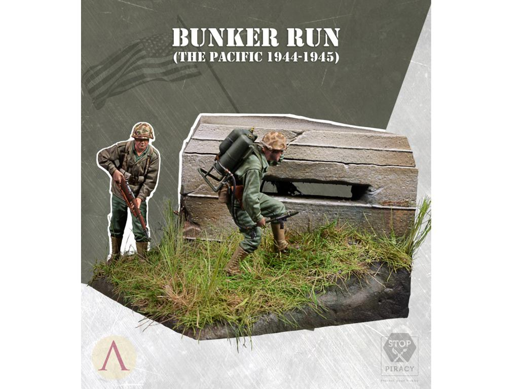 Bunker Run El Pacífico 1944-1945 (Vista 1)