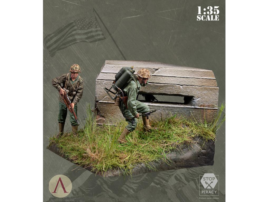 Bunker Run El Pacífico 1944-1945 (Vista 3)