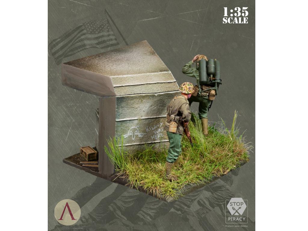 Bunker Run El Pacífico 1944-1945 (Vista 4)