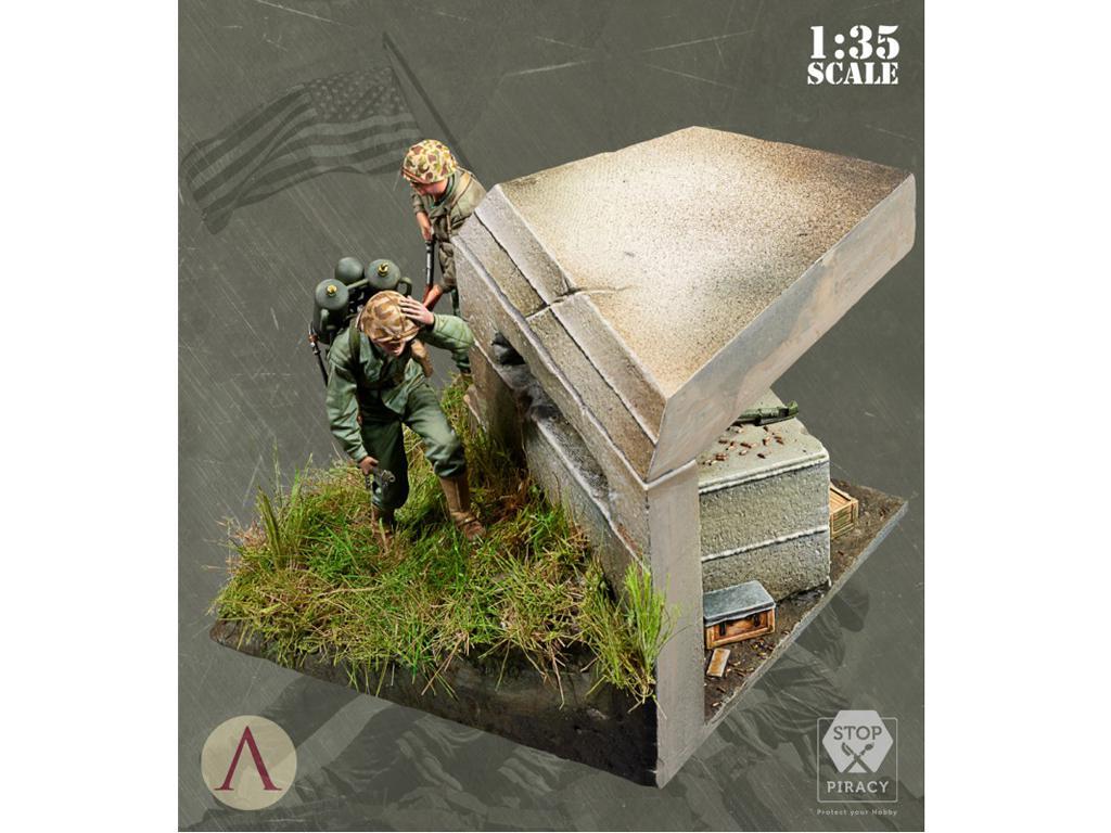 Bunker Run El Pacífico 1944-1945 (Vista 6)