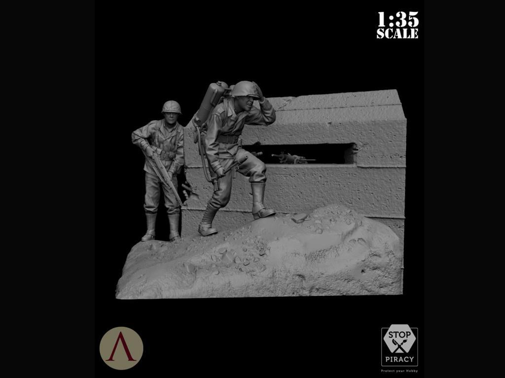 Bunker Run El Pacífico 1944-1945 (Vista 8)