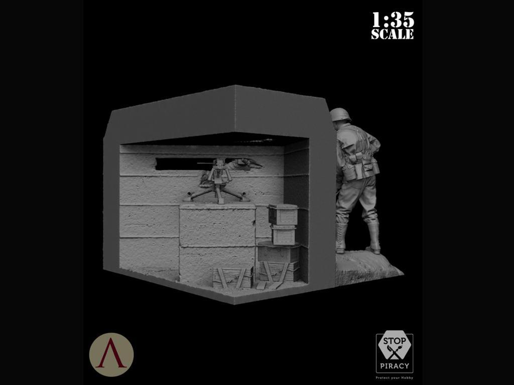Bunker Run El Pacífico 1944-1945 (Vista 9)