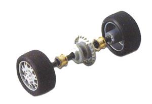 Tren ruedas posterior tipo 1  (Vista 1)