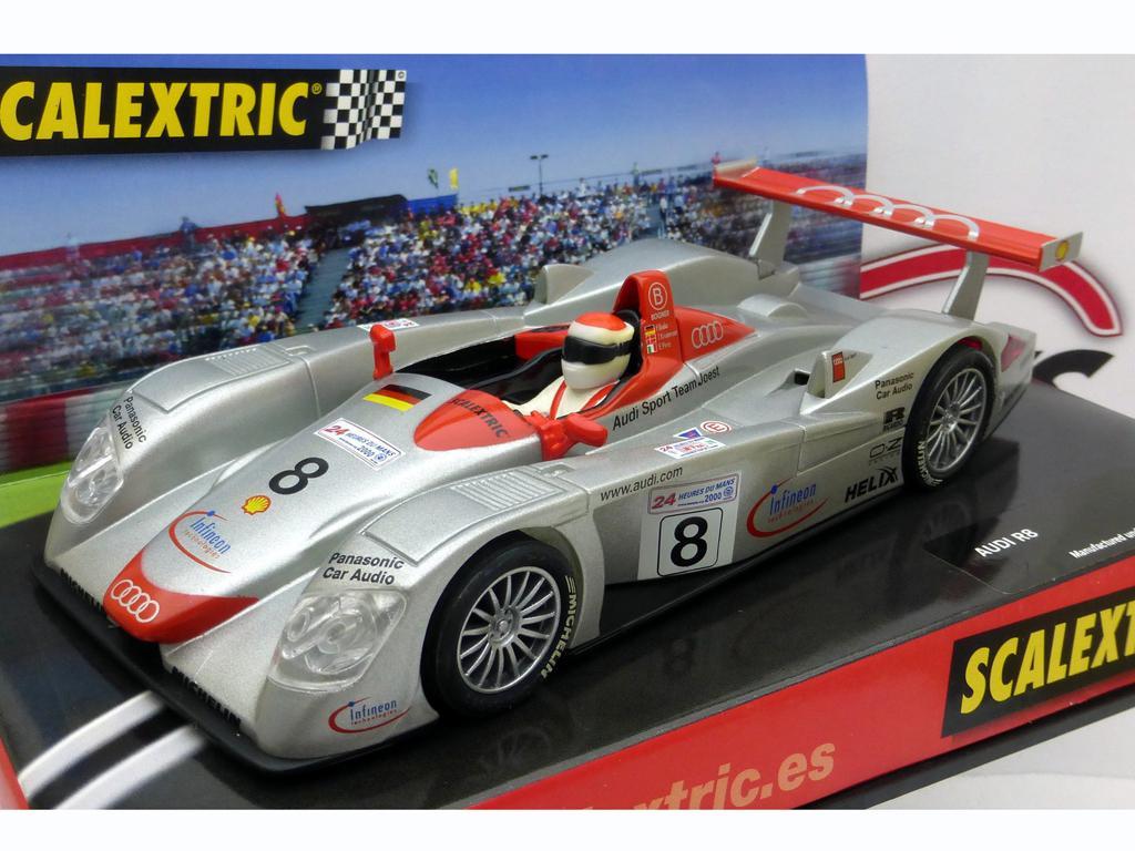 Audi R8 cameon Le Mans 2000 (Vista 1)
