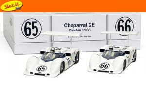 Chaparral 2E #65 & #66 Can-Am Laguna Sec