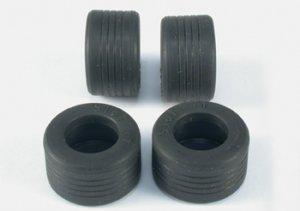 Neumático Goma 20x12mm. F-1 Slick   (Vista 1)
