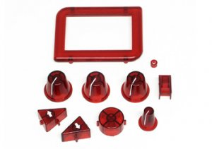 Botones mando SCP-1 rojos  (Vista 1)